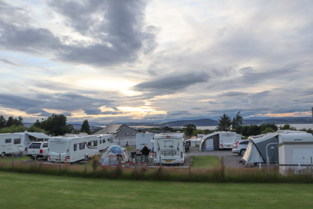 Ardtower Campsite Inverness Scotland_