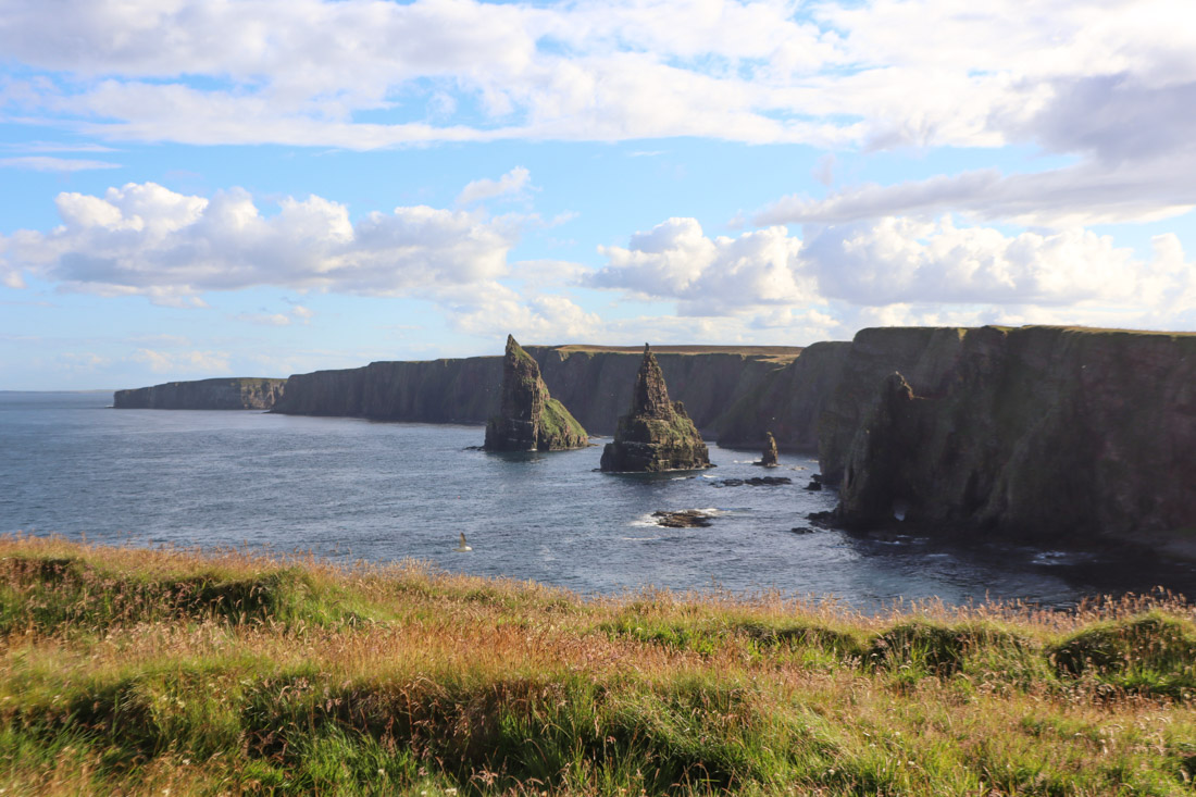 Duncansby Stack at North Coast 500 Scotland_