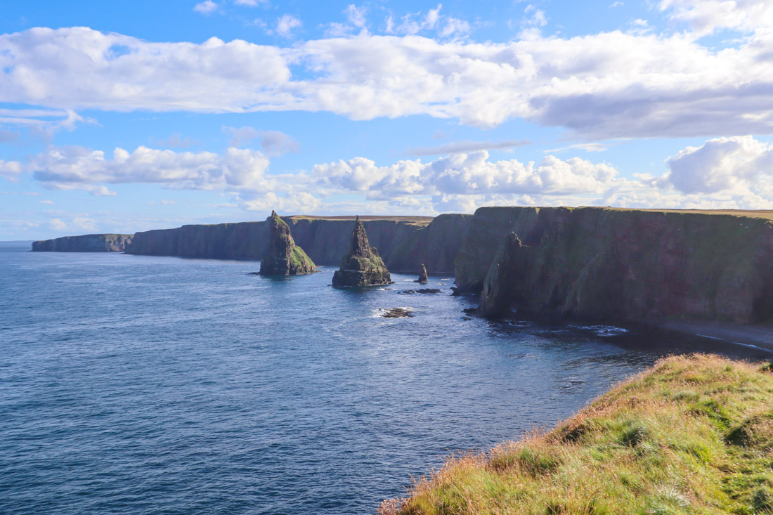 Duncansby Stacks North Coast 500 Scotland_