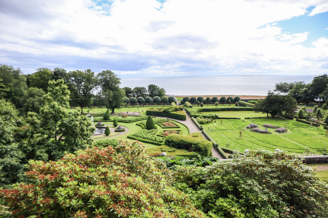 Dunrobin Castle Gardens North Coast 500 Scotland_