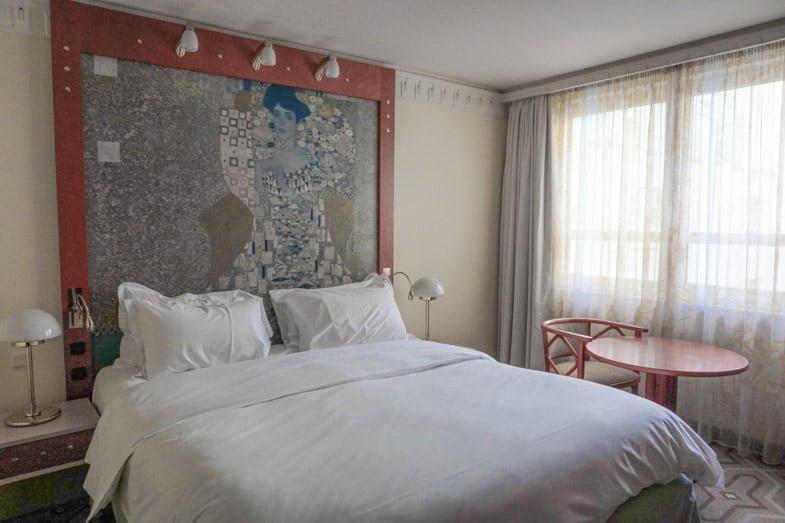 Hotel am Konzerthaus Vienna Hotel Room Klimt Image Bed