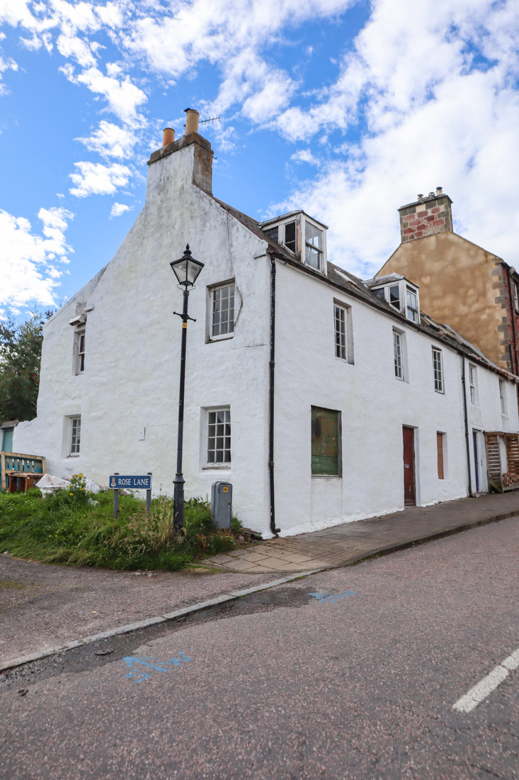 House Cromarty on North Coast 500 in Scotland_
