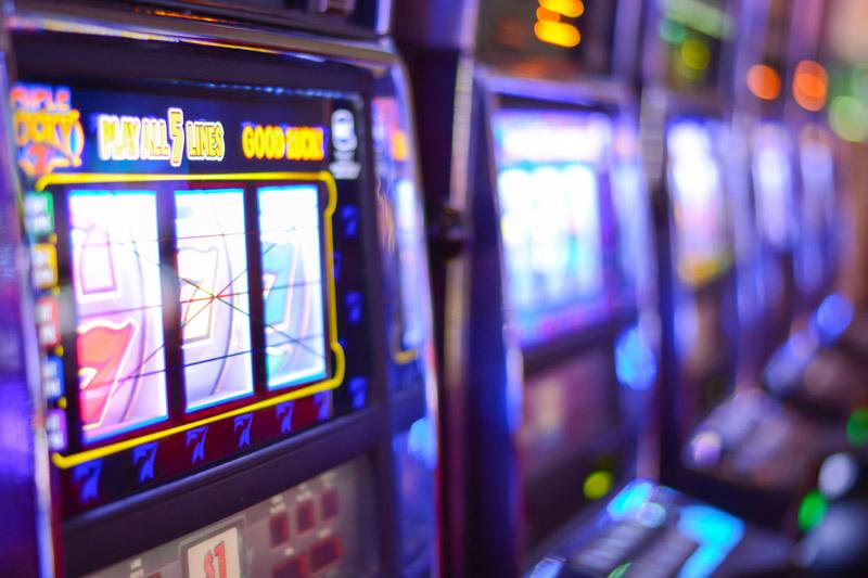 Las Vegas casino machines
