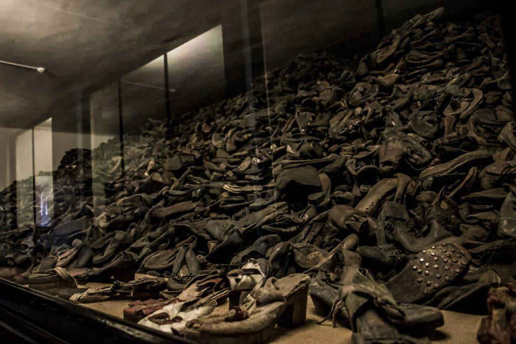 Auschwitz Holocaust Museum prisoner personal items
