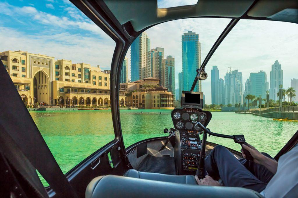 Dubai Helicopter Ride Tour