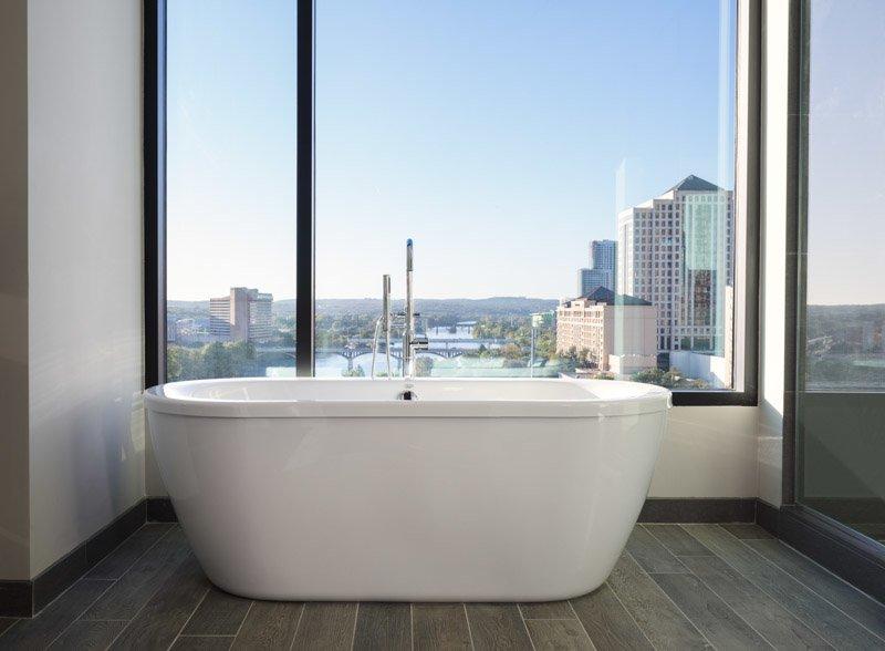 Kimpton Hotel Van Zandt Bath Hotel Room Austin