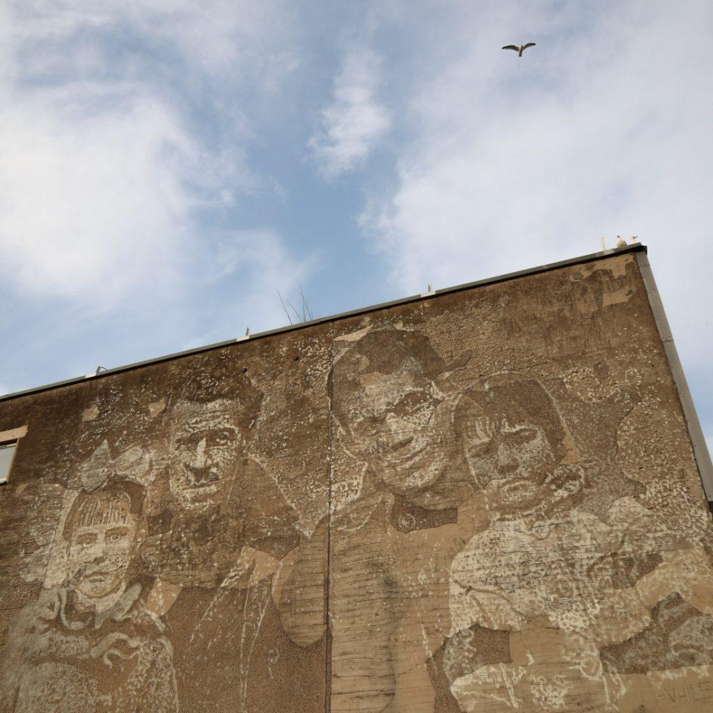 Vhils Aberdeen Nuart Mural