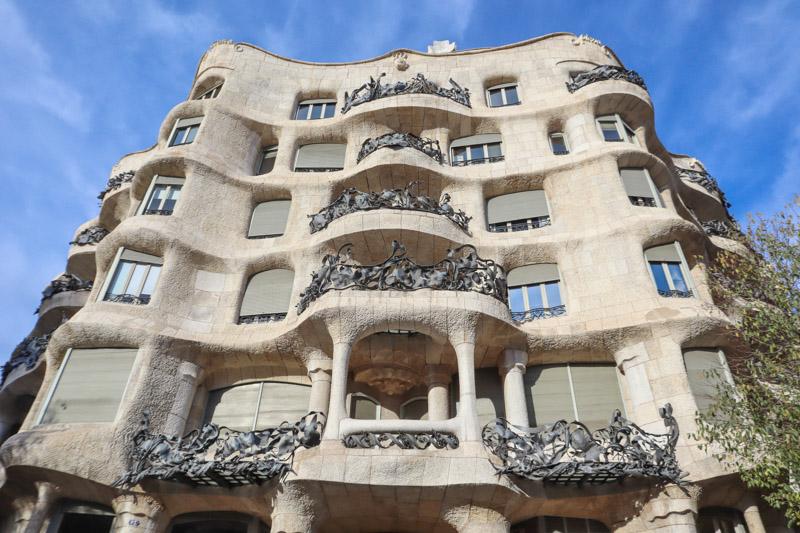 Casa Mila Gaudi Barcelona_