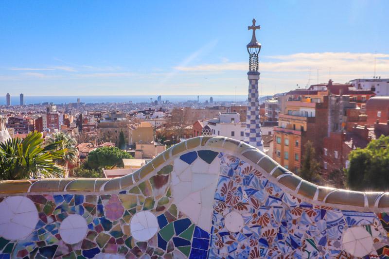 Park Guell Gaudi Barcelona_