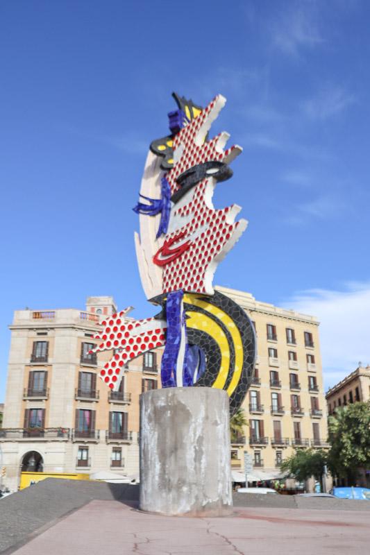 The Head of Barcelona by Roy Lichtenstein