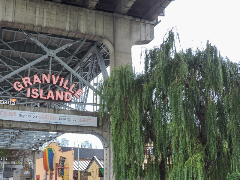 Granville Island Market Sign_