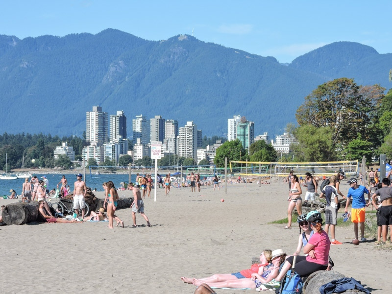 Kitsilano Beach Vancouver_