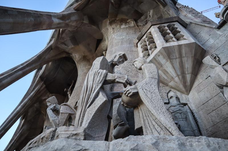 La Sagrada Familia Religious Sculpture_
