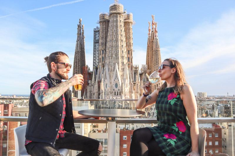 La Sagrada Familia Rooftop Ayre Hotel Barcelona _