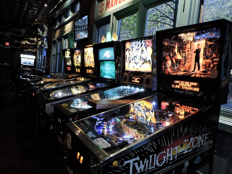 Pub 340 Pinball Arcade on Cambie Street