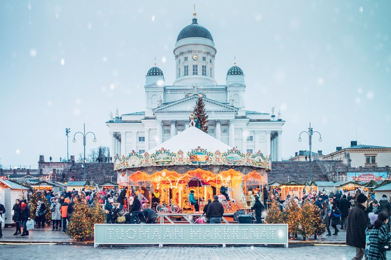Photographer- Jussi Hellsten Helsinki Christmas Market