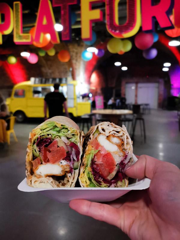 Platform Food in Glasgow falafel_