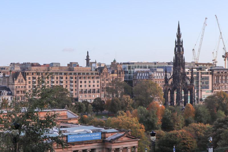 Scottish National Gallery Edinburgh landscape shot