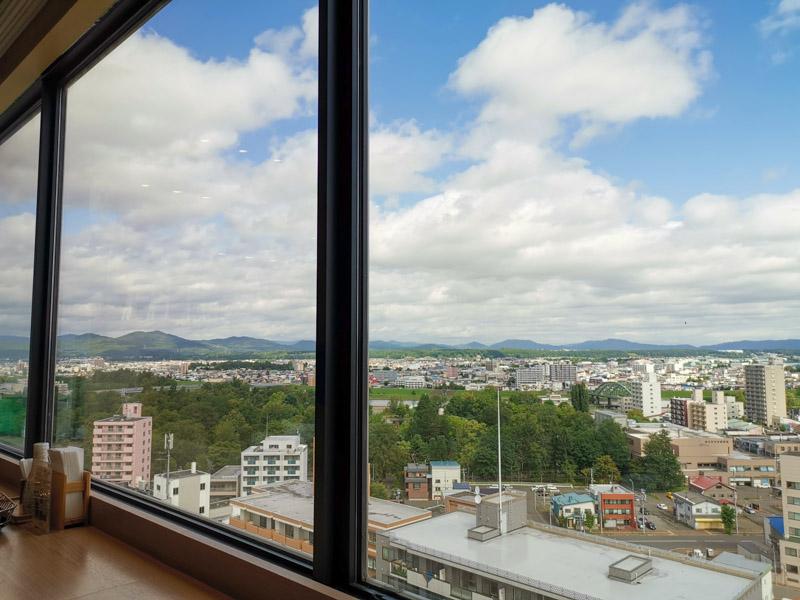 Art Hotel Restaurant View Asahikawa
