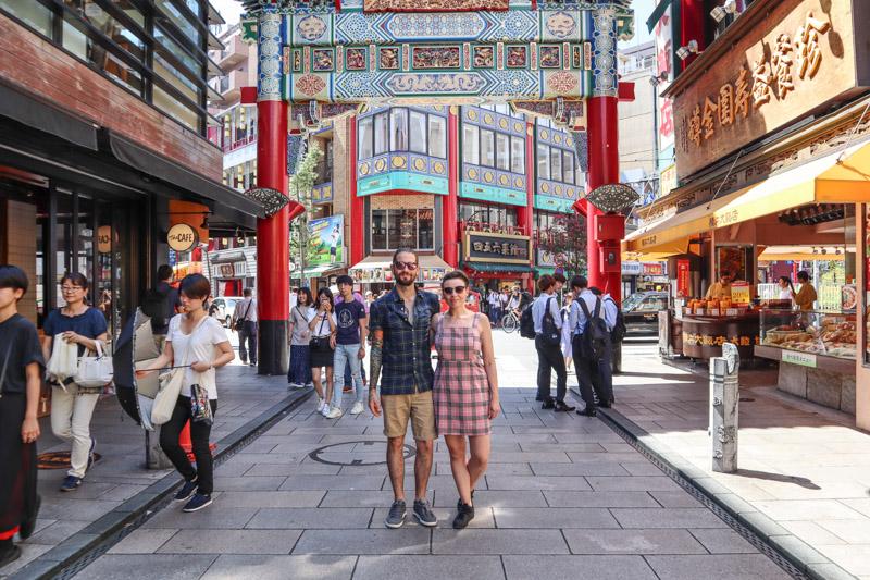 Chinatown Yokohama Craig and Gemma