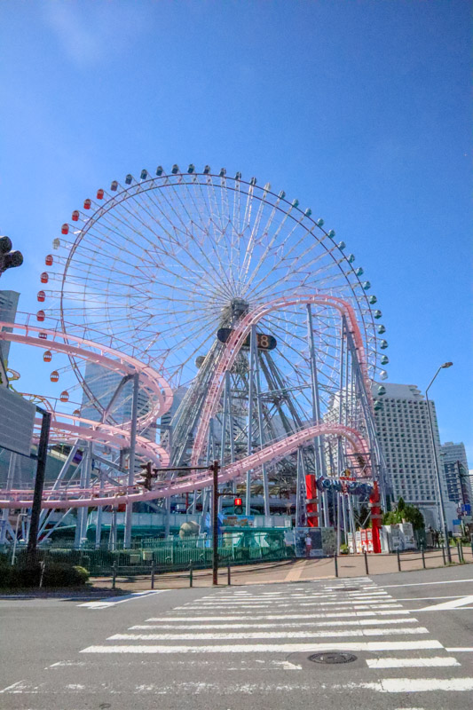 Ferris Wheel in Yokohama