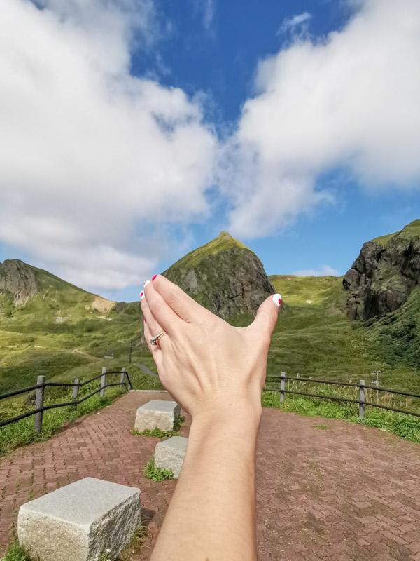 Momoiwa Rock Rebun Island Hokkaido Japan