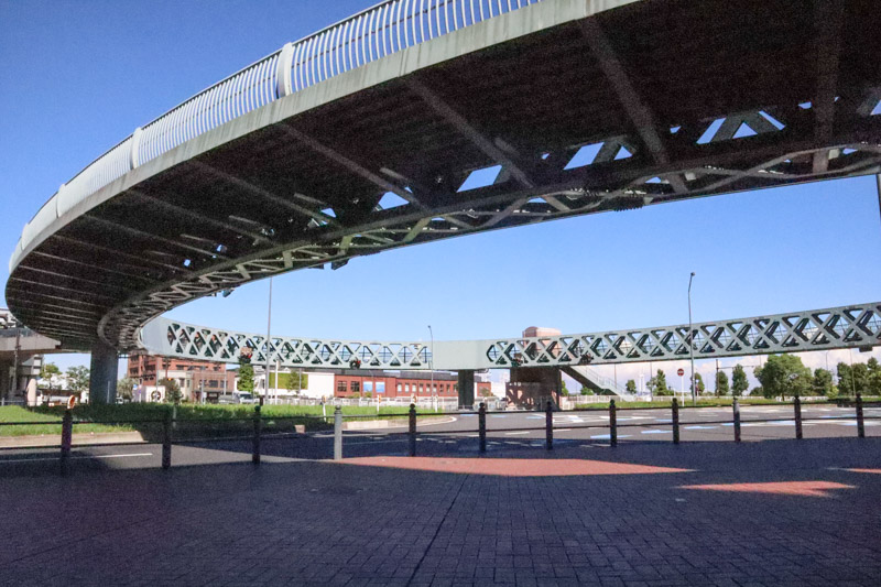 Shinkou Circle-Walk Bridge Yokohama