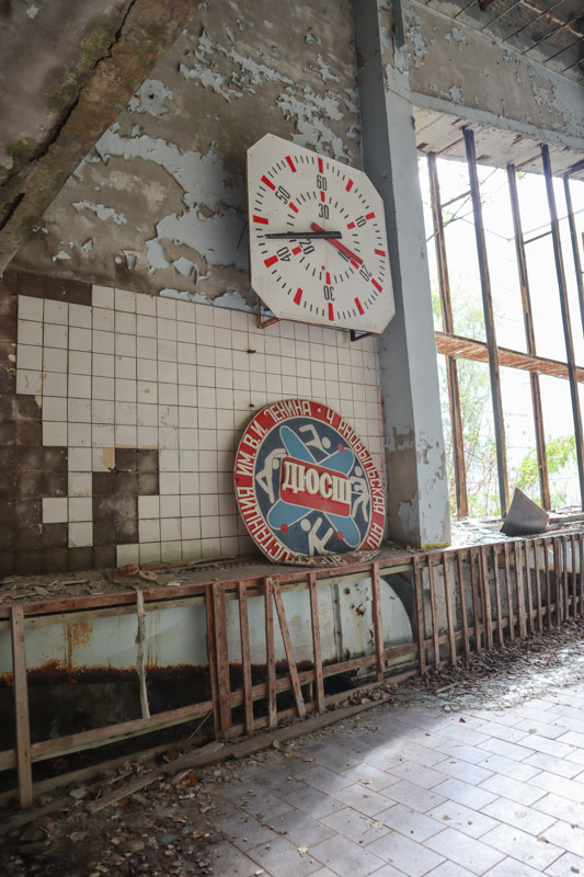 Azure Pool Chernobyl Kiev