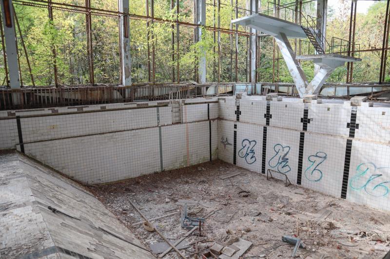 Azure Swimming Pool Chernobyl