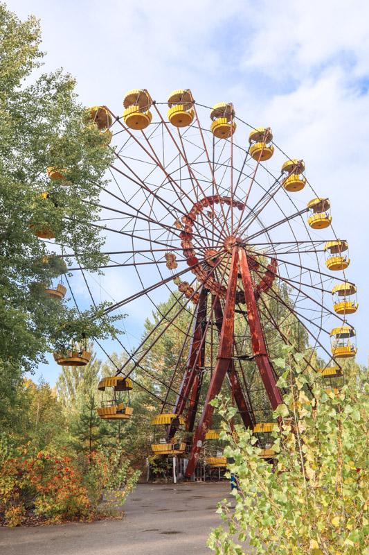 Ferris Wheel in Chernobyl