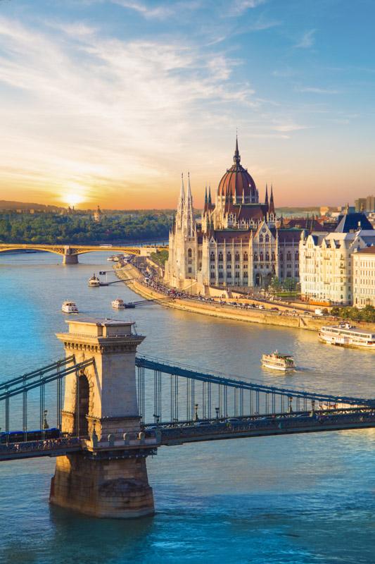 Hungarian Parliament Building Budapest_