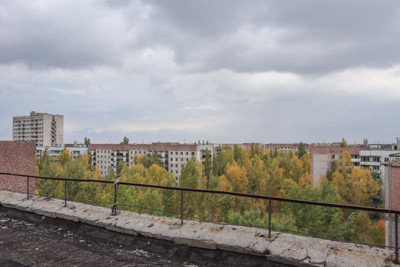 Pripyat Apartments Rooftop
