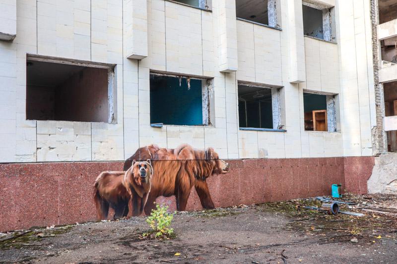 Pripyat Bear Murals Bears