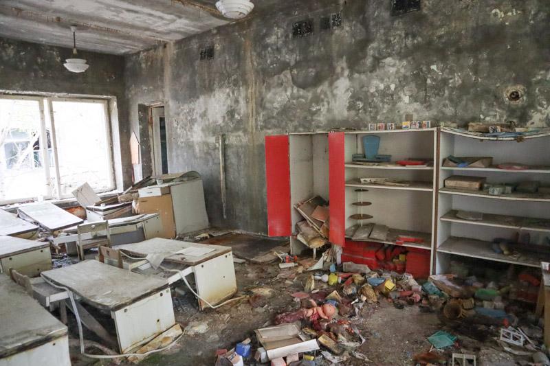 Pripyat Kindergarten Classroom