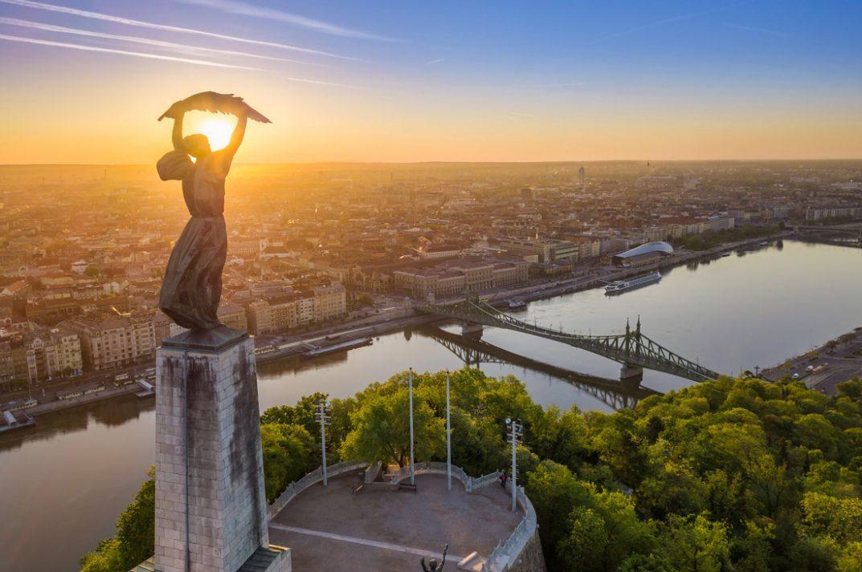 3 Day Budapest Itinerary Gellert Hill