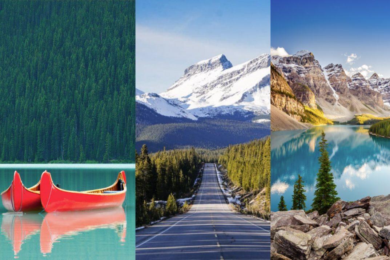 Jasper vs Banff National Parks Rockies Canada