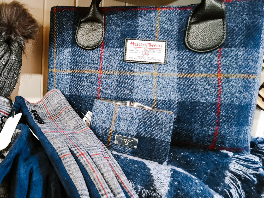 Harris Tweed Bag Scotland_