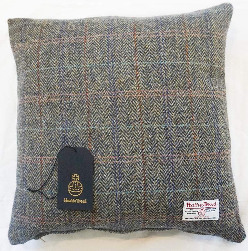 Harris Tweed Cushion Etsy