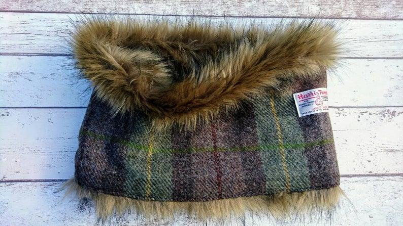 Tweed Scarf Etsy