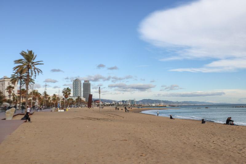Barcelona Beach_