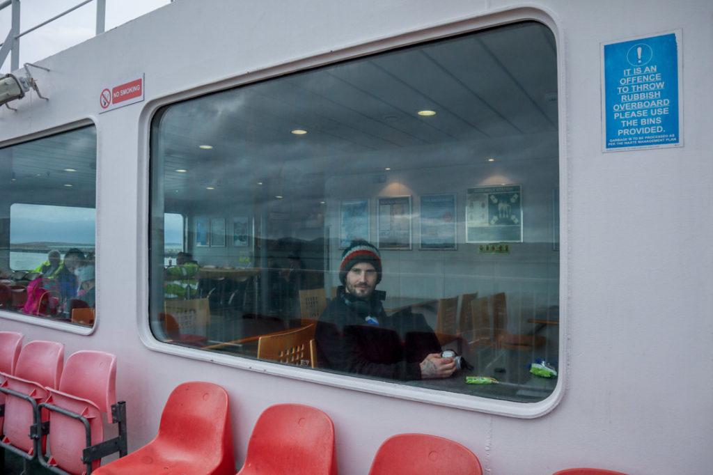 CalMac Ferries Two Scots Abroad_