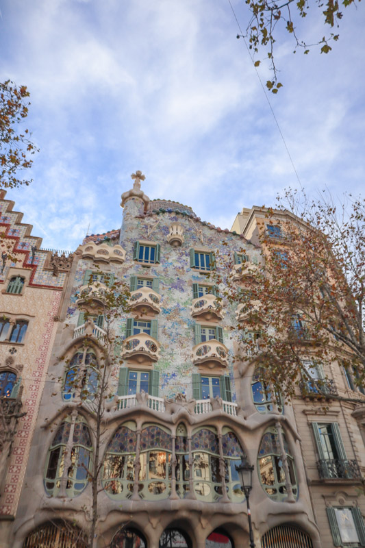 Casa Batllo Gaudi House Barcelona