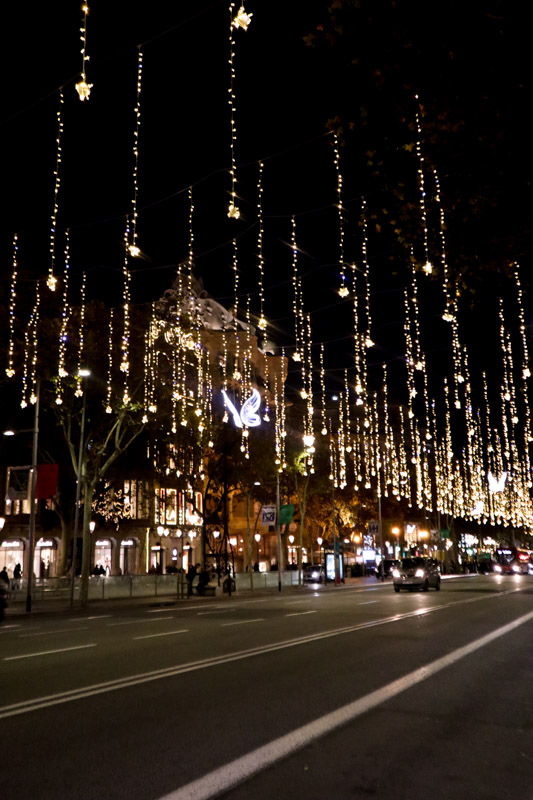 Christmas Lights Passeig de Gracia