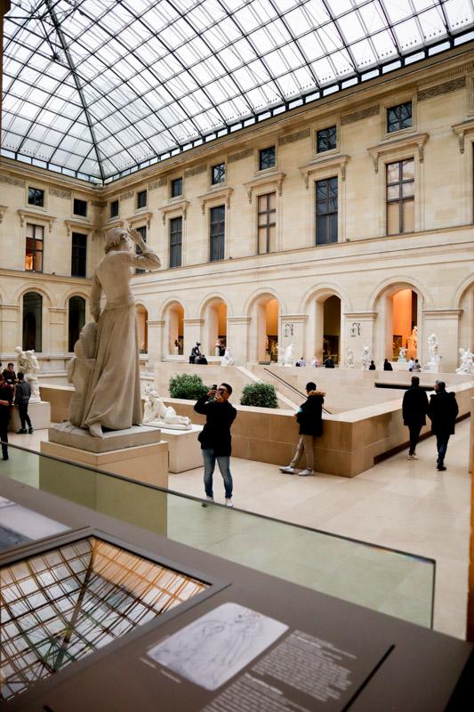 Inside the Louvre Paris_