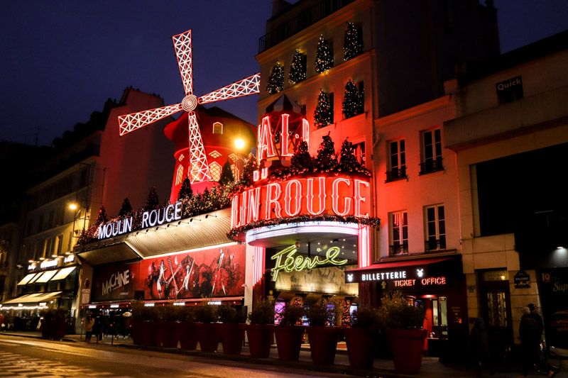 Moulin Rogue Paris_