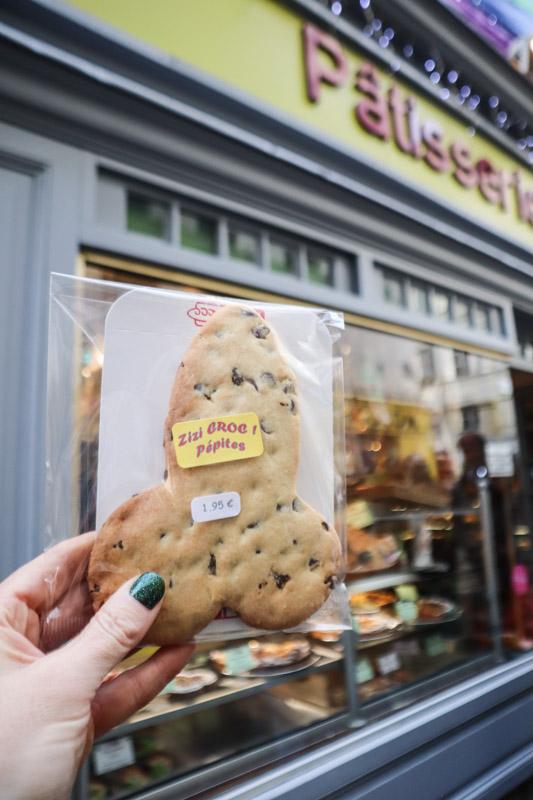 Penis Cookie Legay Choc Bakery