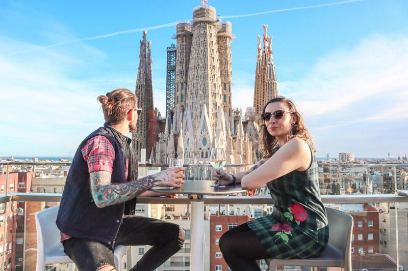 Sagrada Familia Ayre Hotel Gemma and Craig