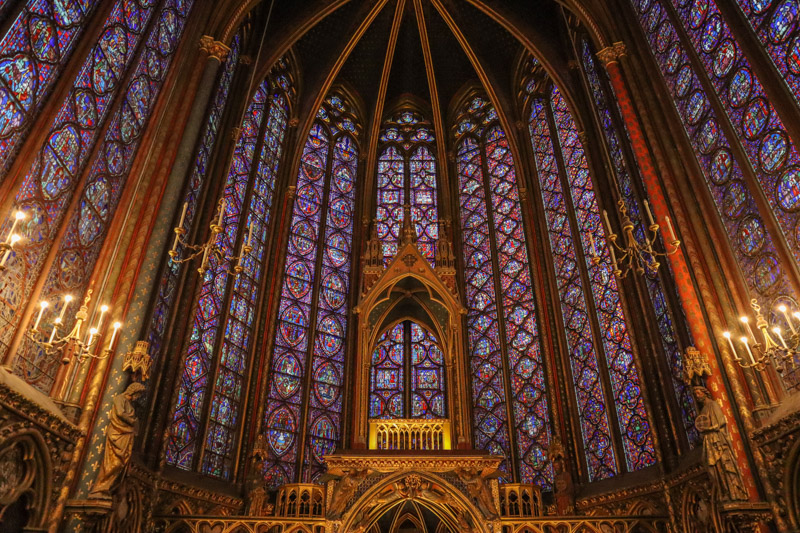 Sainte-Chapelle in Paris_
