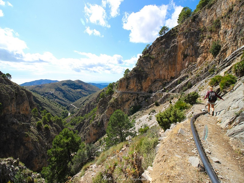 el Saltillo trail - Brainy Backpackers