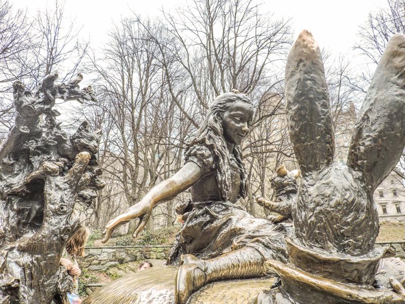 Alice in Wonderland Statue Central Park NYC